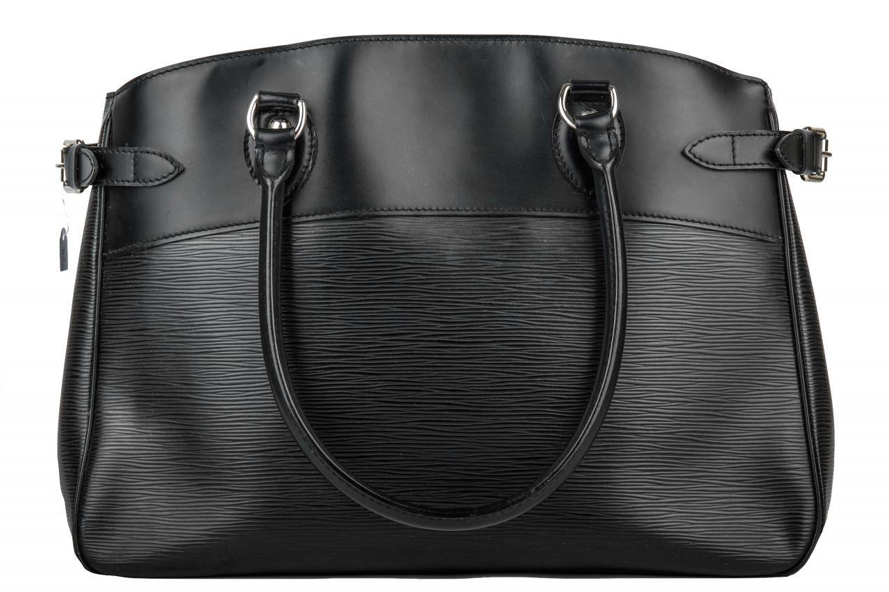Louis Vuitton Passy GM Epi Leder Schwarz