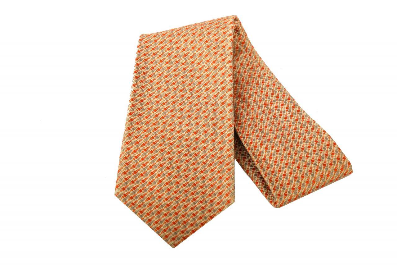 Hermès Krawatte Steppung Rot
