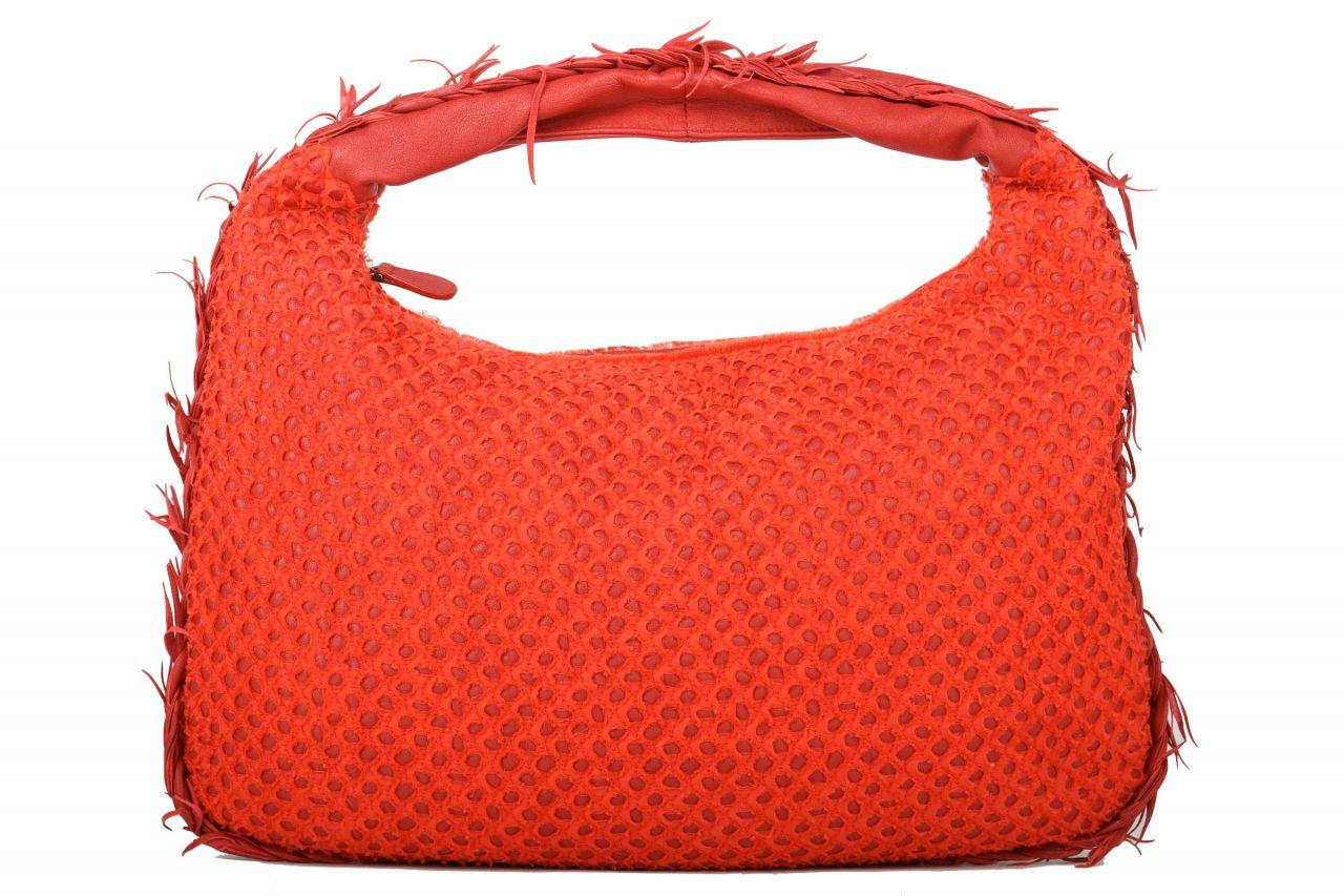 Bottega Veneta Rust Fringed Limited Edition