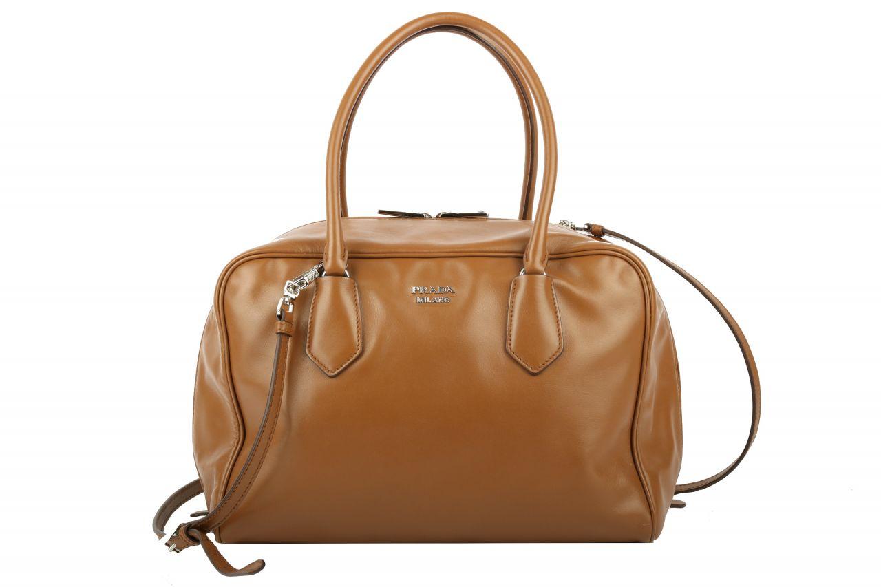 Prada Inside Bag Braun / Türkis