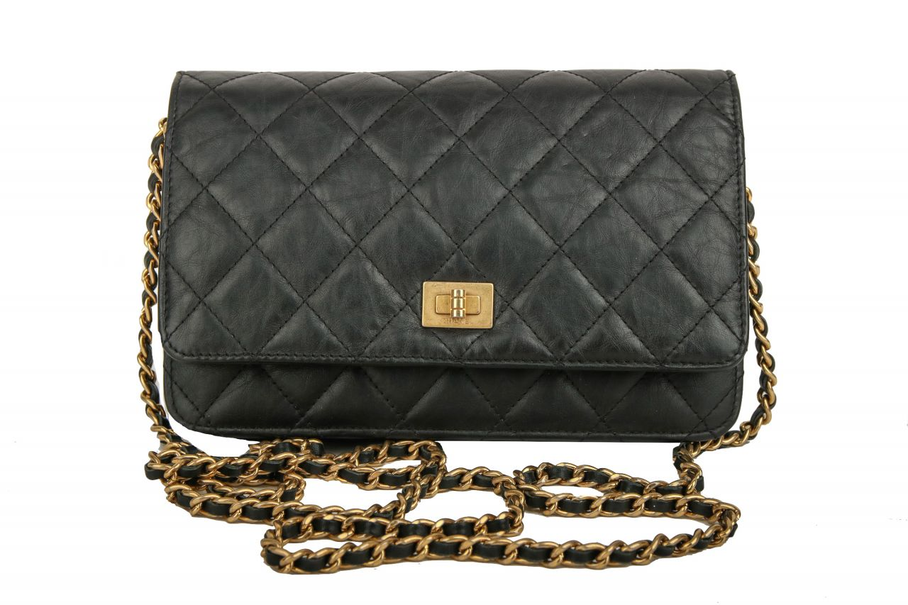 Chanel Wallet on Chain Black