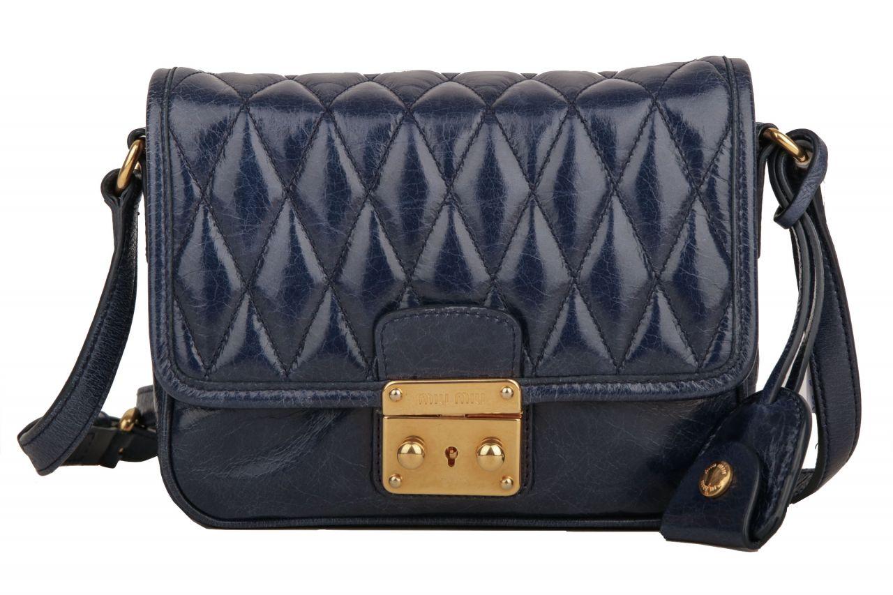 Miu Miu Handtasche Blau