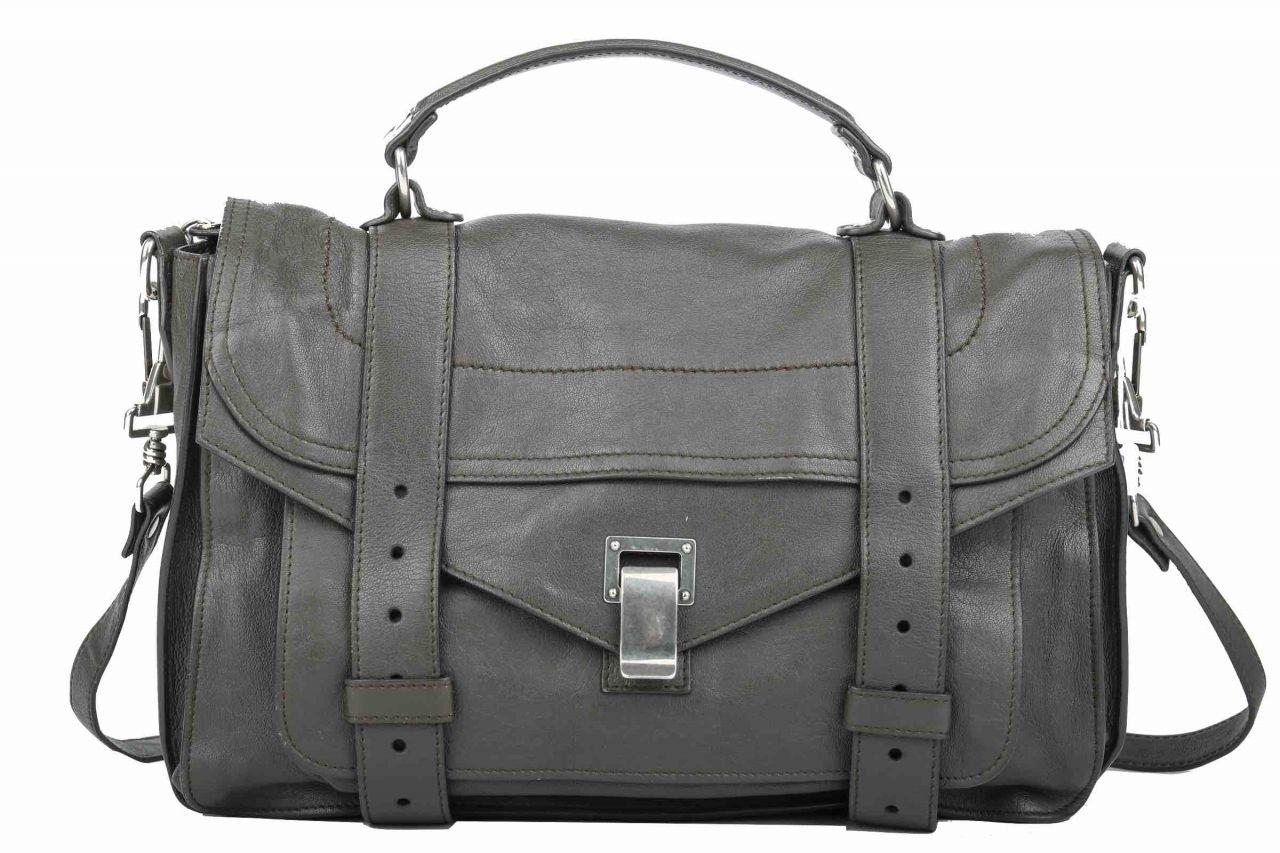 Proenza Shoulder Bag PS1 Medium Grey