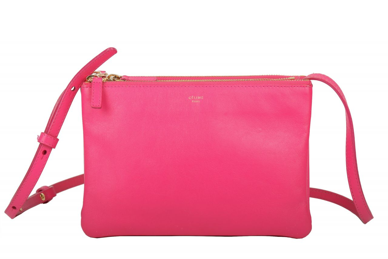 Céline Trio Bag 20 Leder Pink