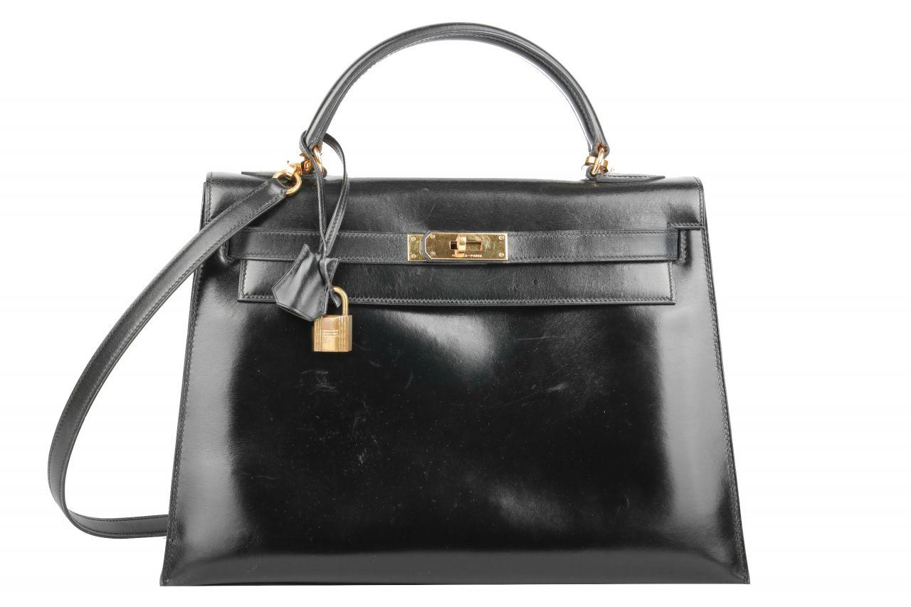Hermès Kelly Bag 32 Schwarz