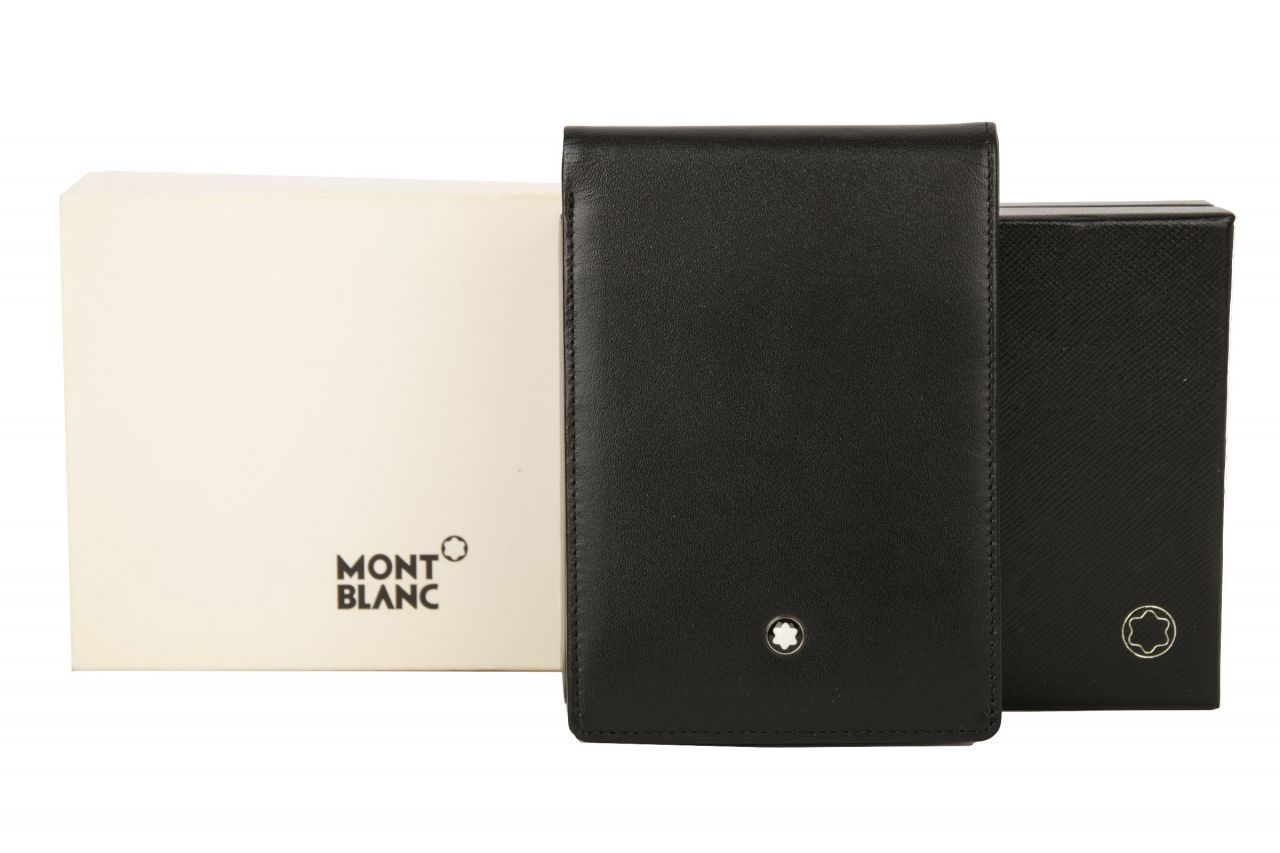 Mont Blanc Meisterstück Etui Schreibblock