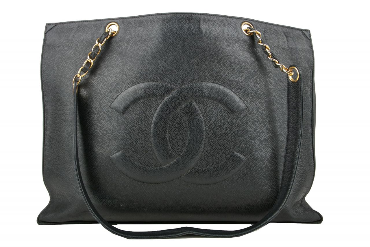 Chanel Shopper Schwarz