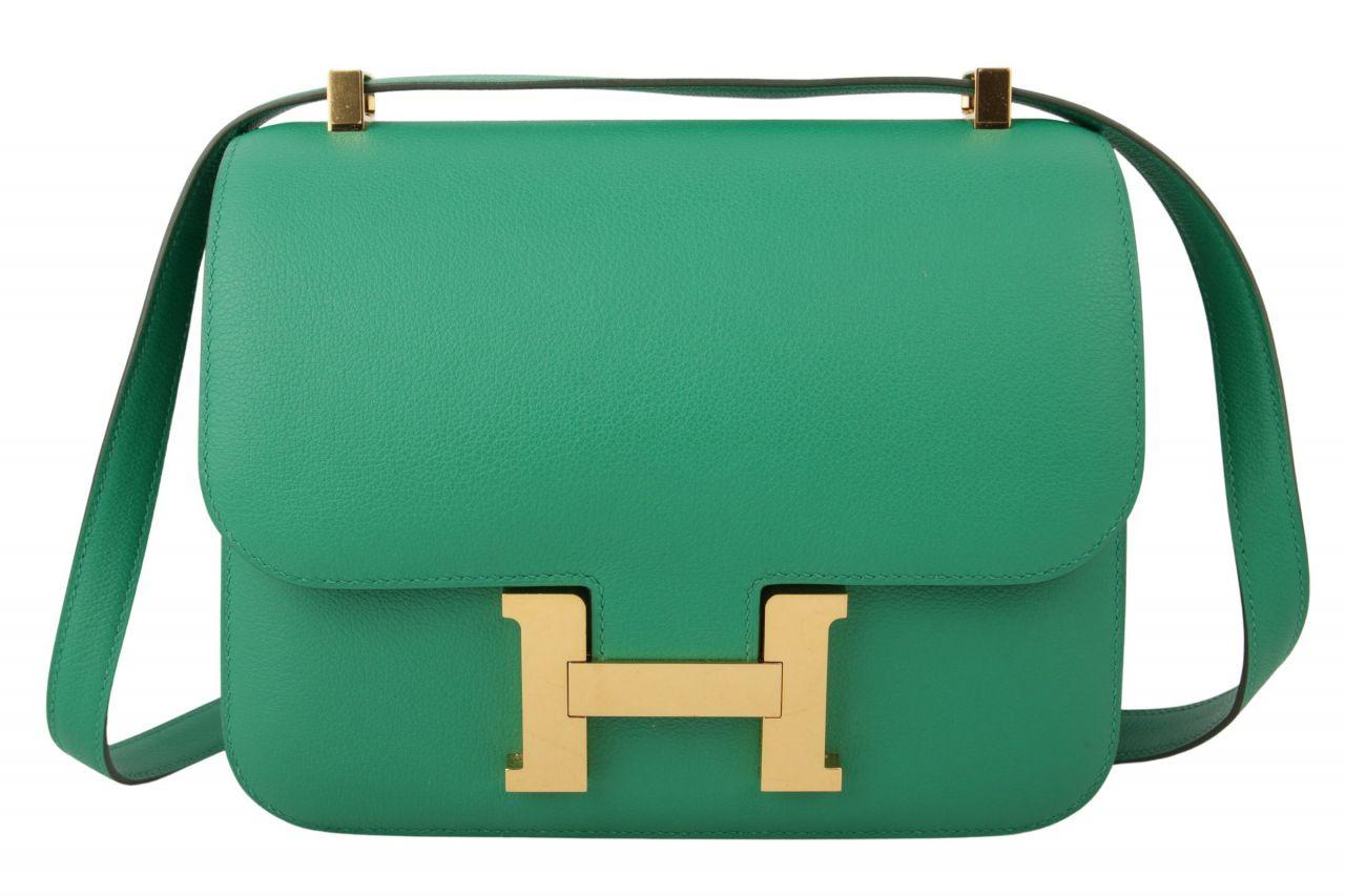 Hermès Constance 24 Evercolor Vert Vertigo