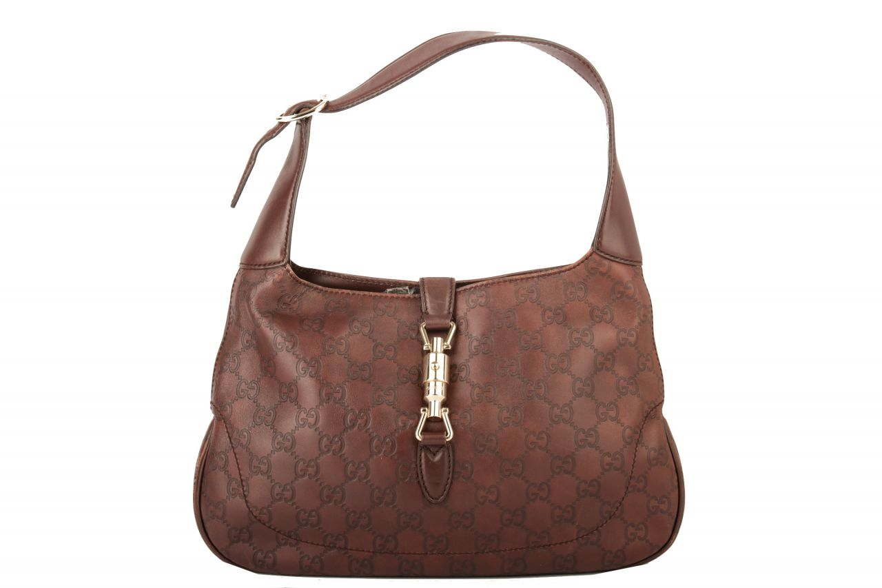 Gucci Jackie Hobo Bag Brown