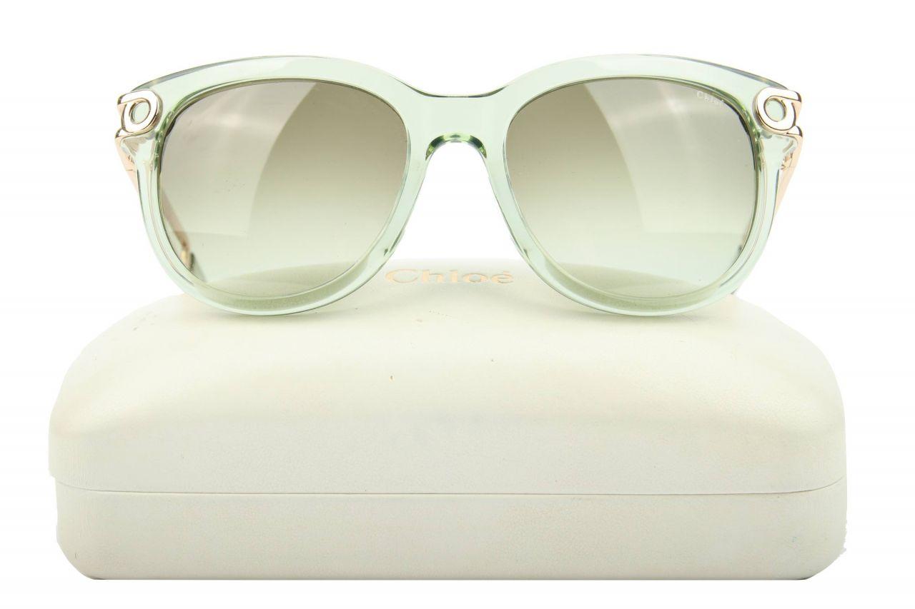 Chloé Sonnenbrille Grün