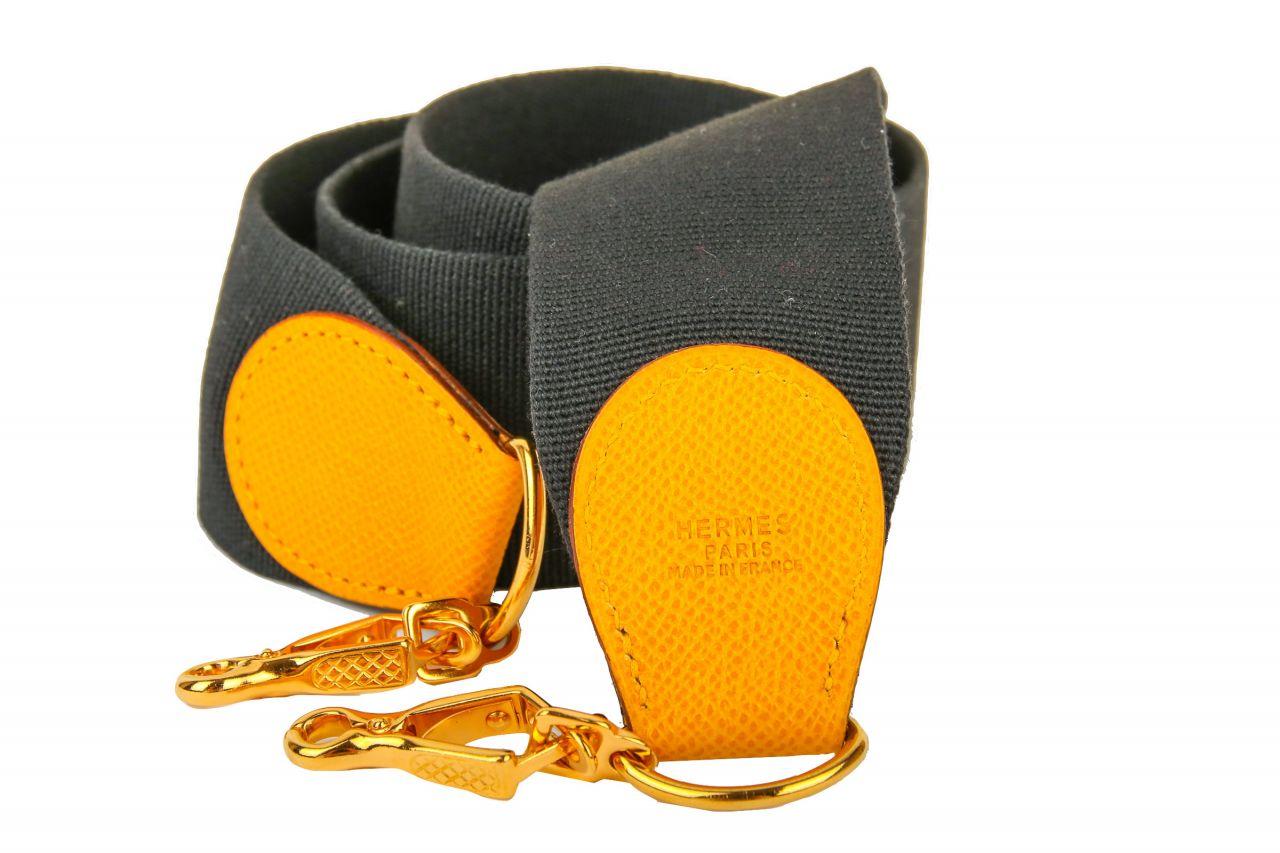 Hermès Schulterriemen aus Stoff