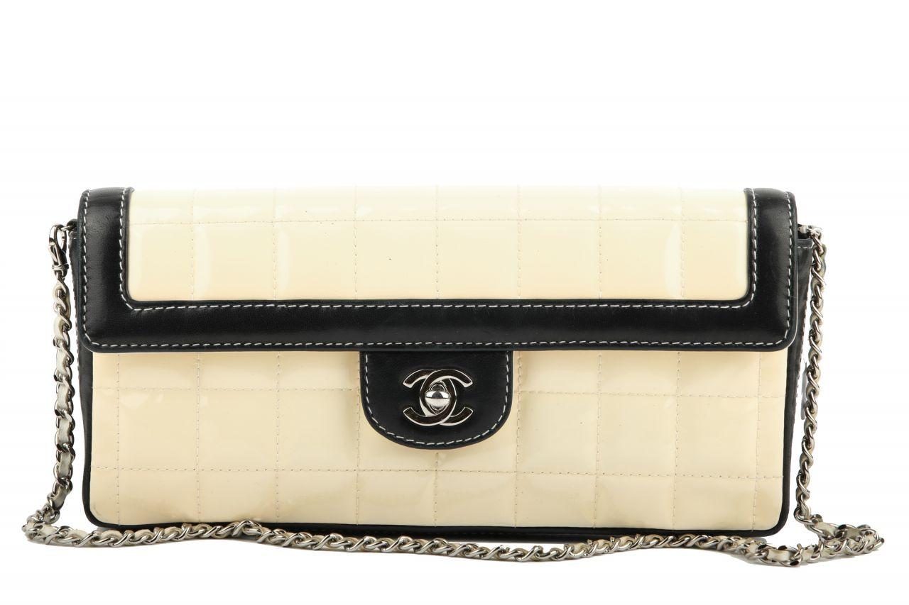 Chanel Timeless Flap Bag Schwarz/ Beige