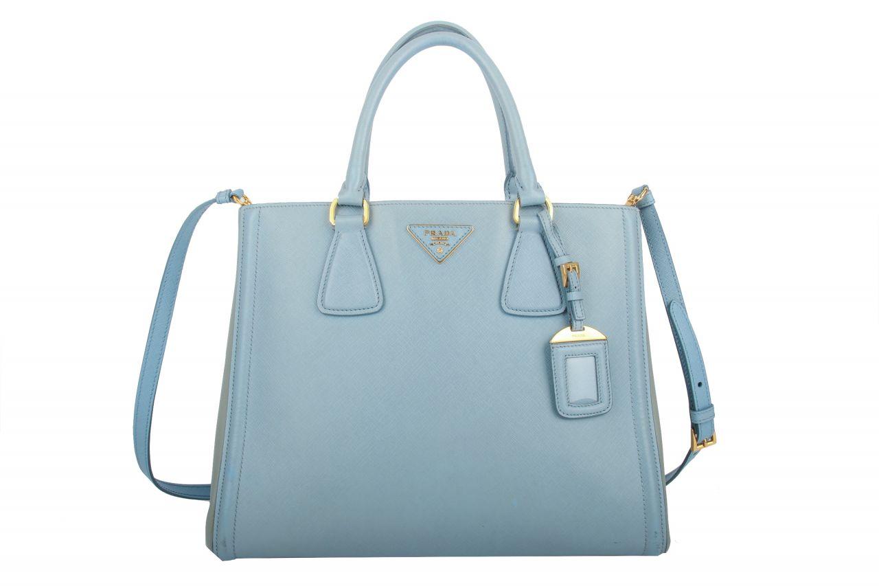 Prada Galleria Bag Blau