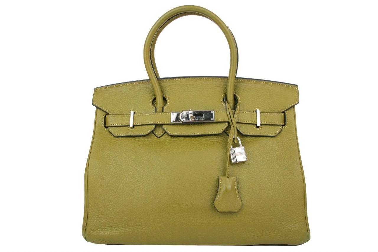 Hermès Birkin Bag 30 Vert Veronese Togo