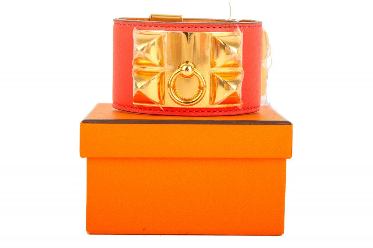 Hermès Collier de Chien Rouge T1