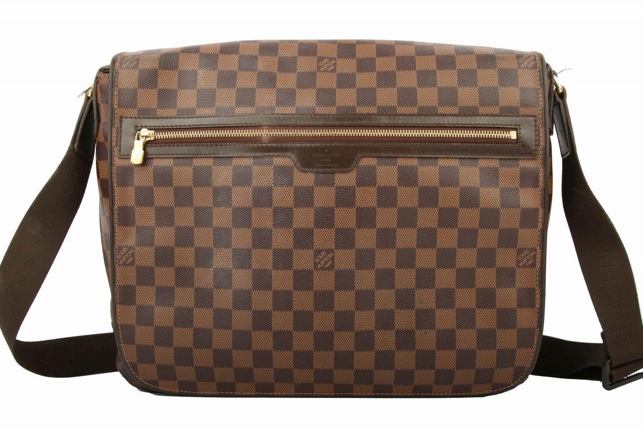 Louis Vuitton Spencer Laptop Messenger Bag Damier Ebene
