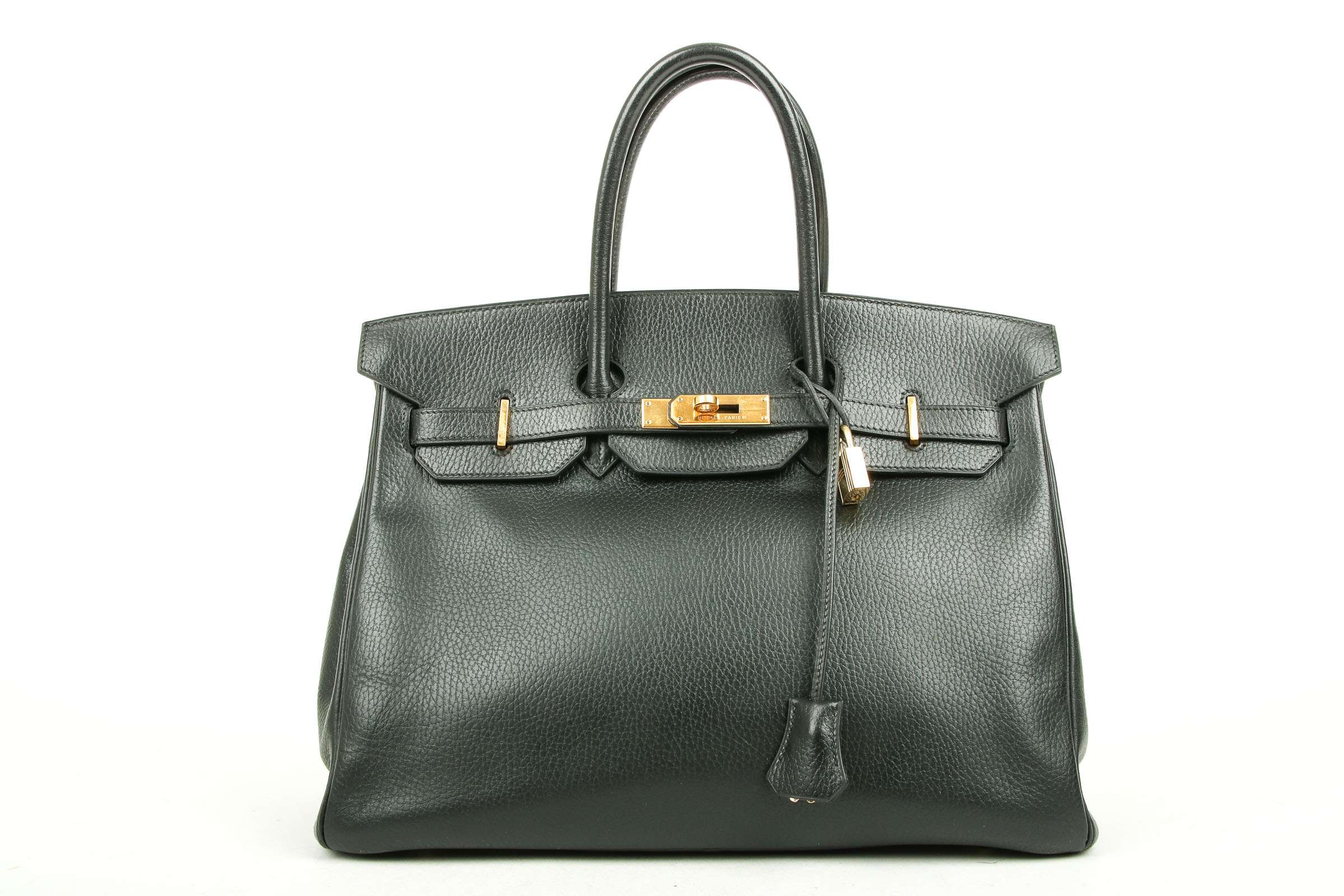 821edb76a2b Hermès Birkin 35 Black Ardennes leather | Luxussachen.com