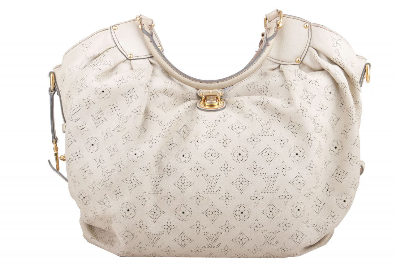 Louis Vuitton Mahina XL Grey