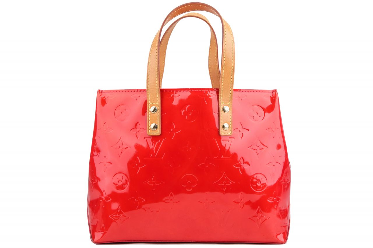 Louis Vuitton Reade PM Monogram Vernis Rot