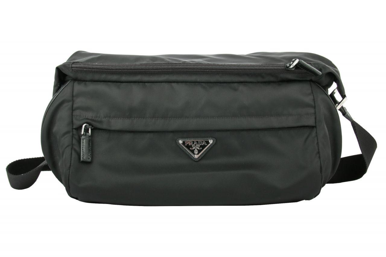Prada Crossbody Bag Nylon Schwarz