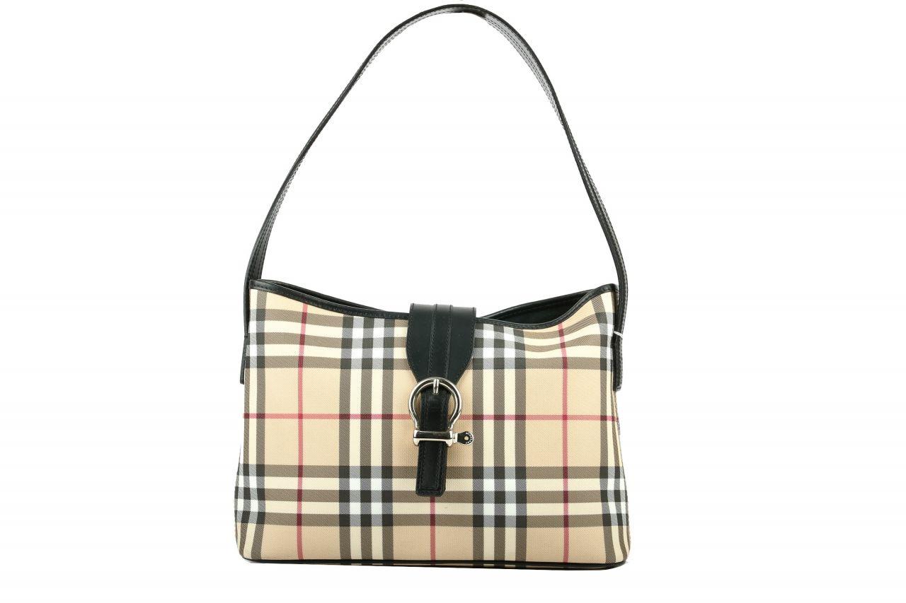Burberry Nova Check Handtasche