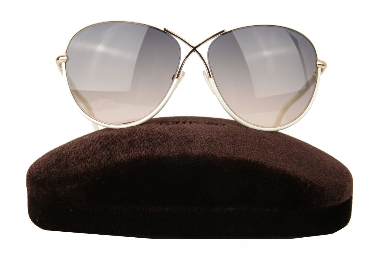 Tom Ford Rosie Sonnenbrille Weiß