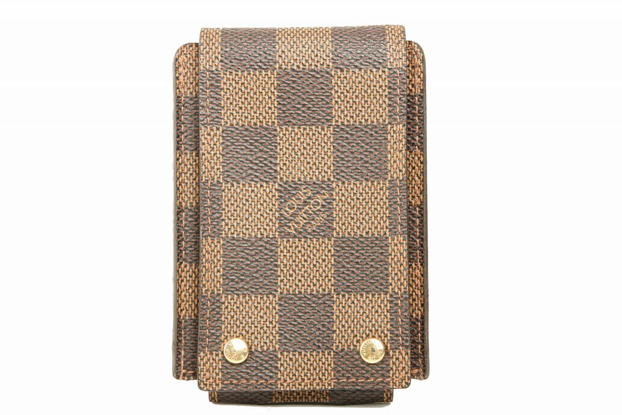 Louis Vuitton iPod Case Damier Ebene Canvas