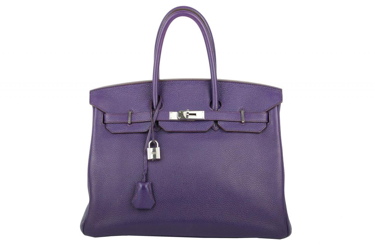 Hermès Birkin 35 Violet Iris Togo Bijou