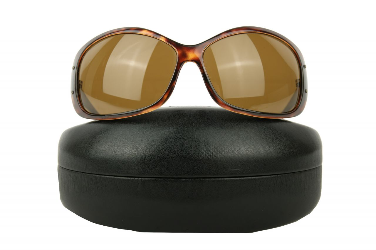"Prada Sunglasses ""SPR04F"" Brown"