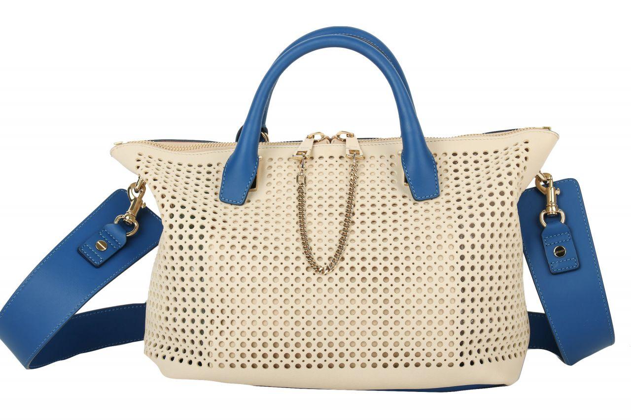 Chloé Handtasche Weiß