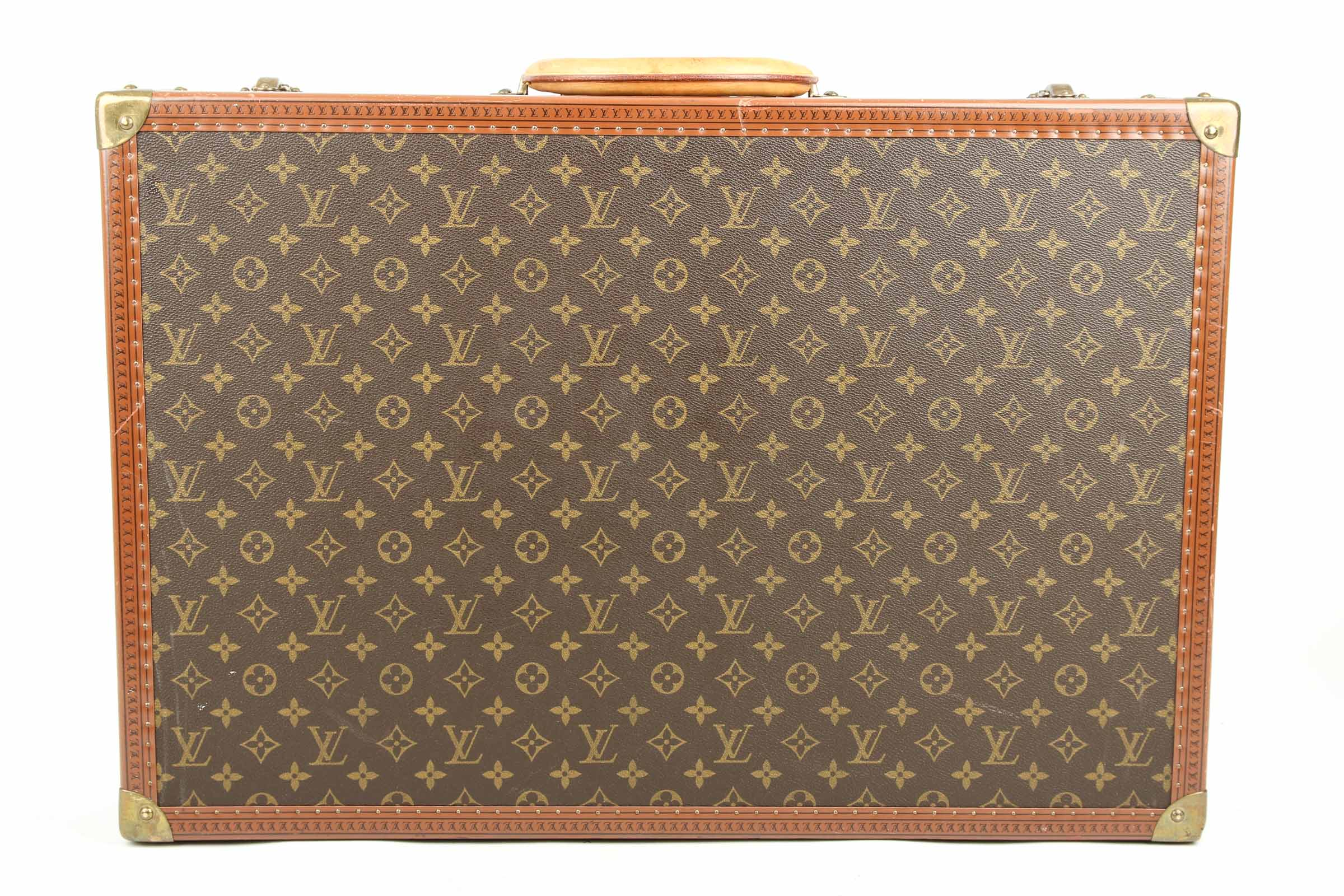 louis vuitton bisten koffer 65 monogram canvas. Black Bedroom Furniture Sets. Home Design Ideas