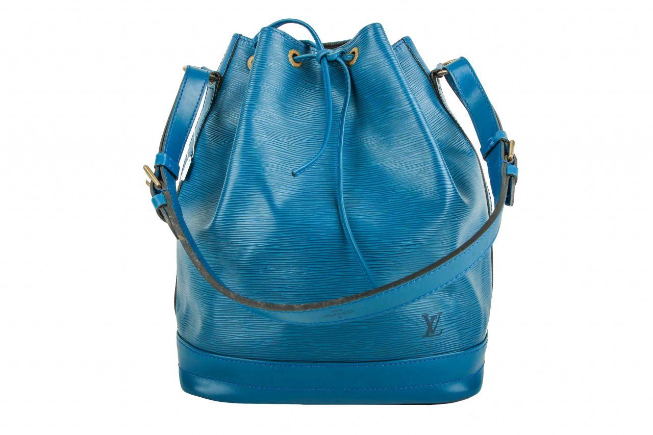 Louis Vuitton Sac Noé Grand Epi Leather Blue
