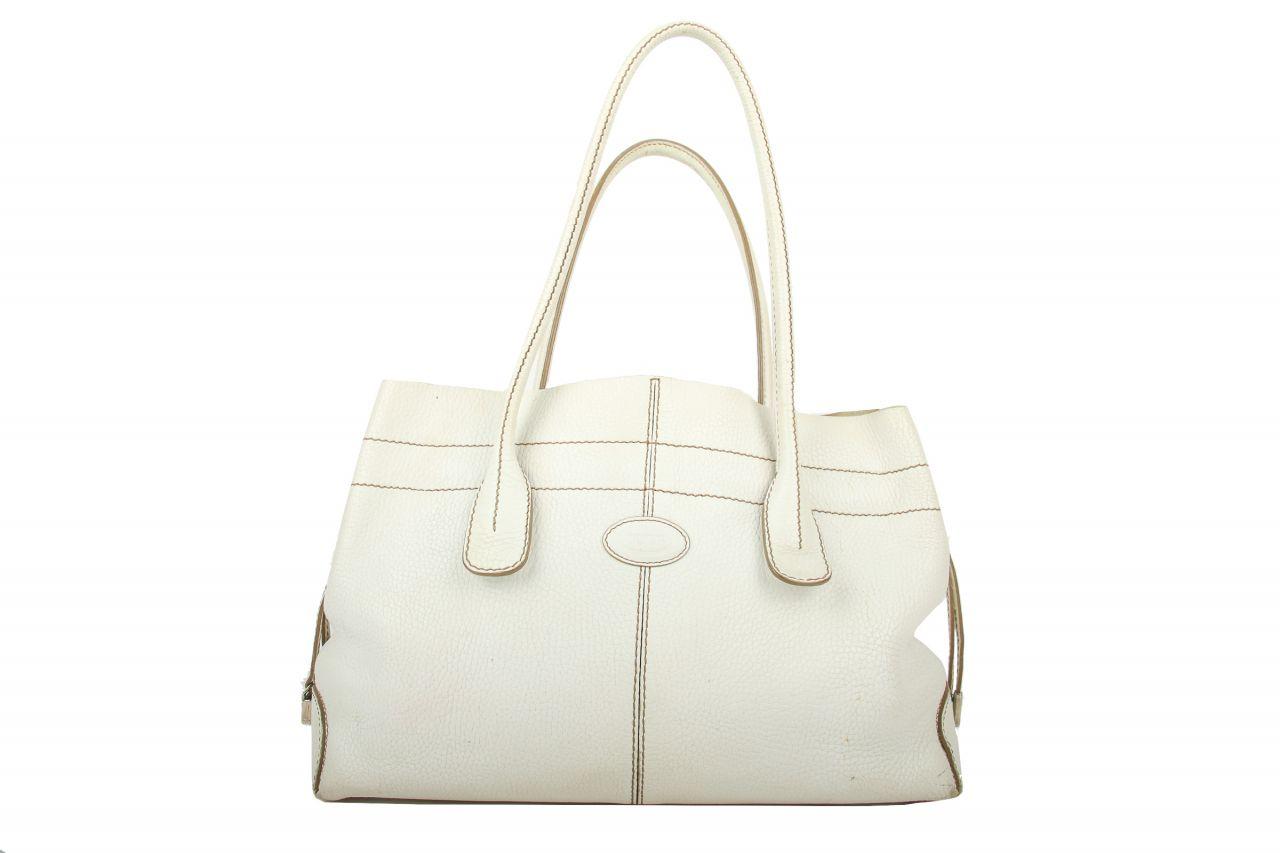 Tod's D-Bag Shopper White