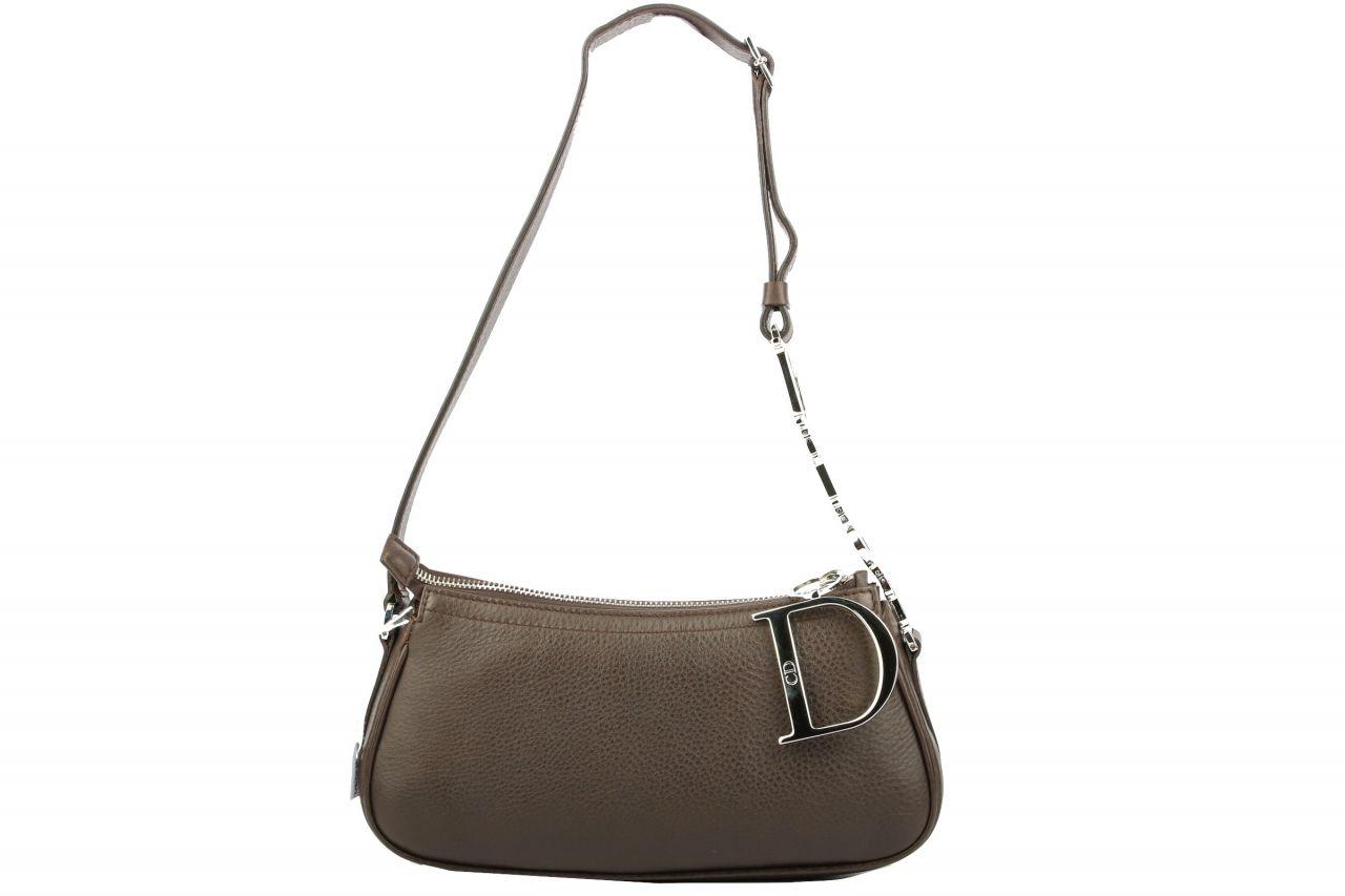 Dior Pochette Shoulder Bag Brown