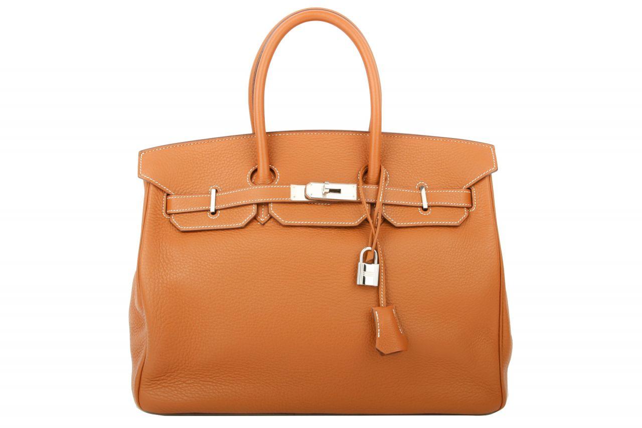 Hermès Birkin 35 Gold Togo Leather