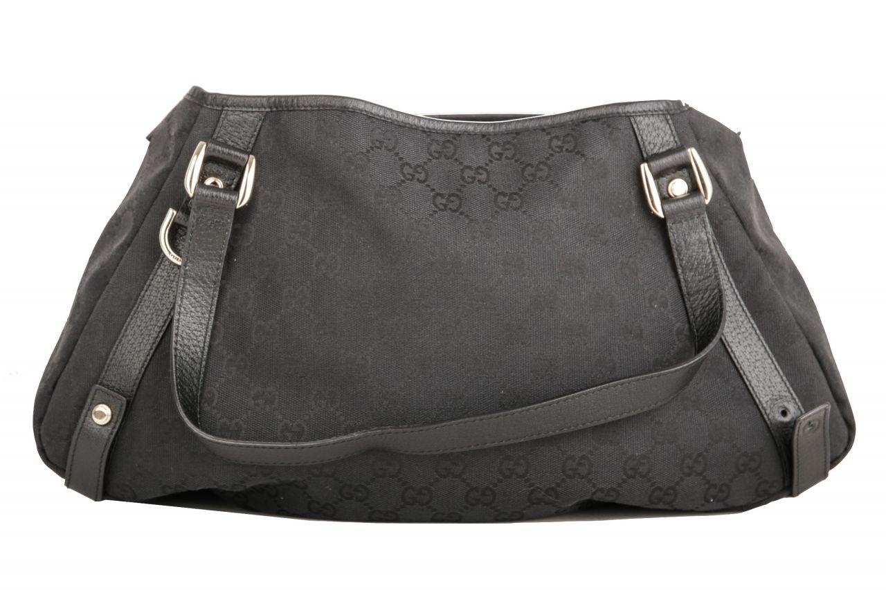 Gucci Guccissima Shoulder Bag schwarz