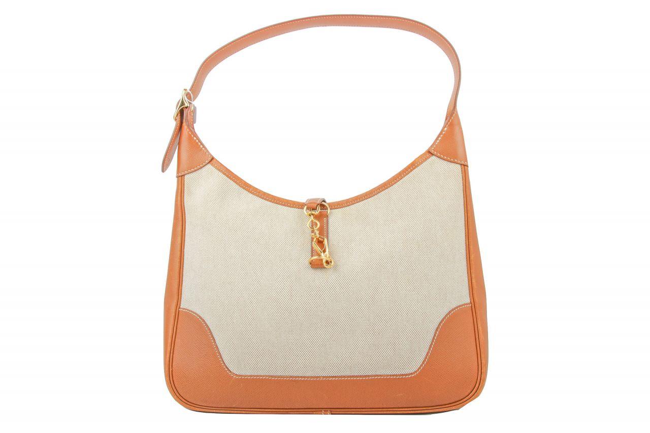 Hermès Trim Bag Beige Brown