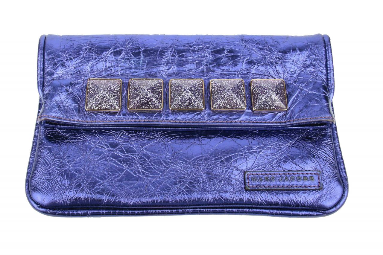 Marc Jacobs Clutch Lilac Metallic