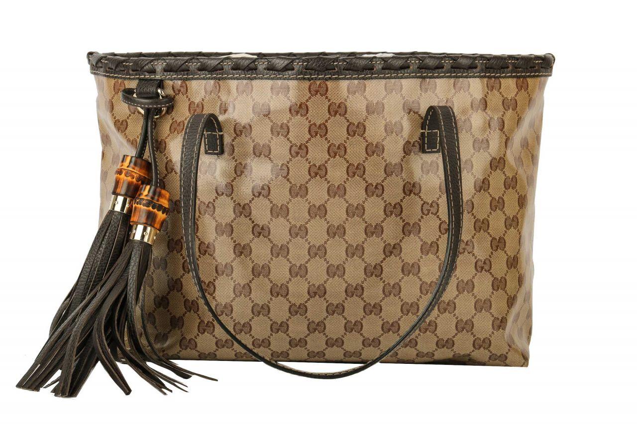 Gucci Shopper GG Bamboo Braun