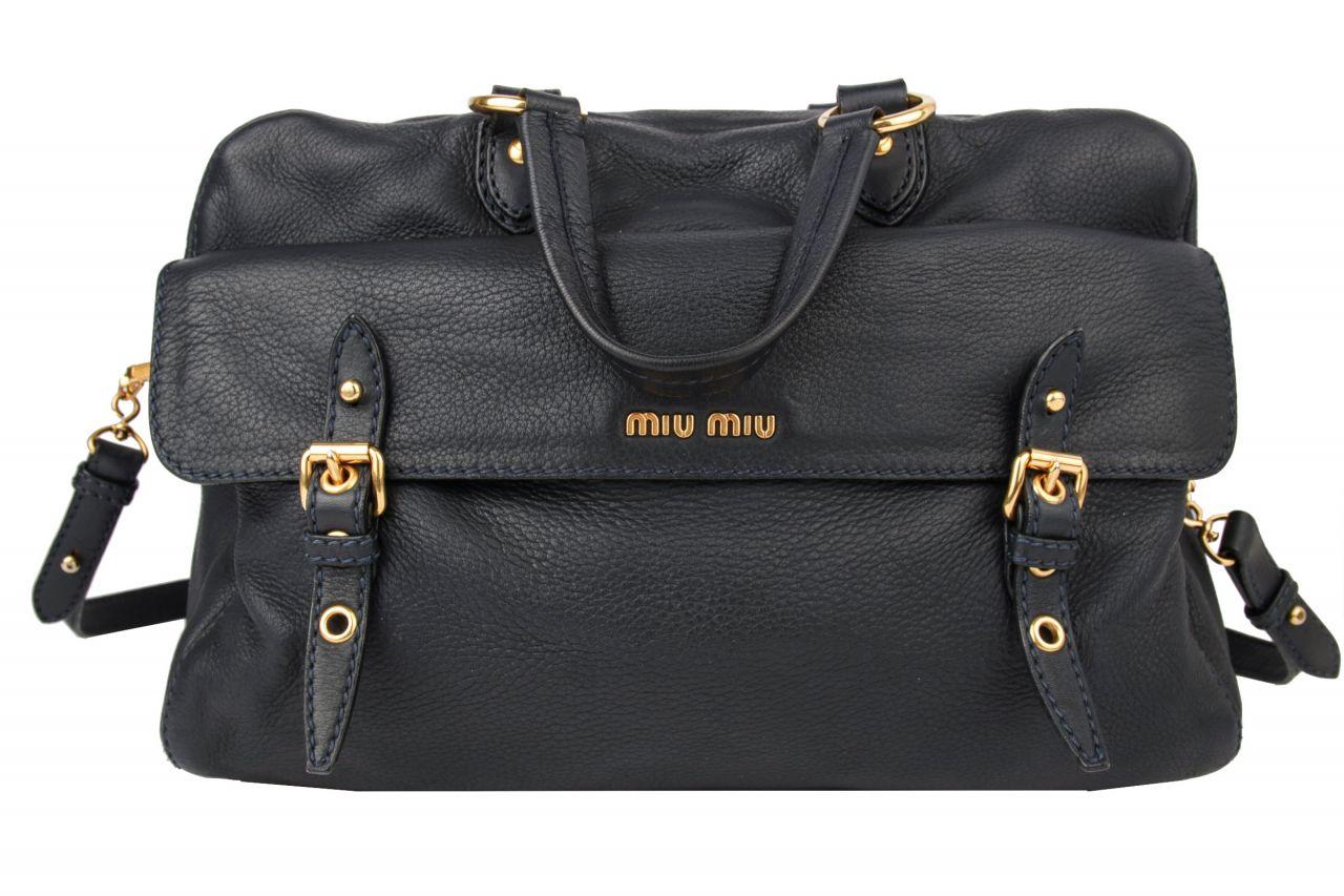 Miu Miu Messenger Bag Darkblue