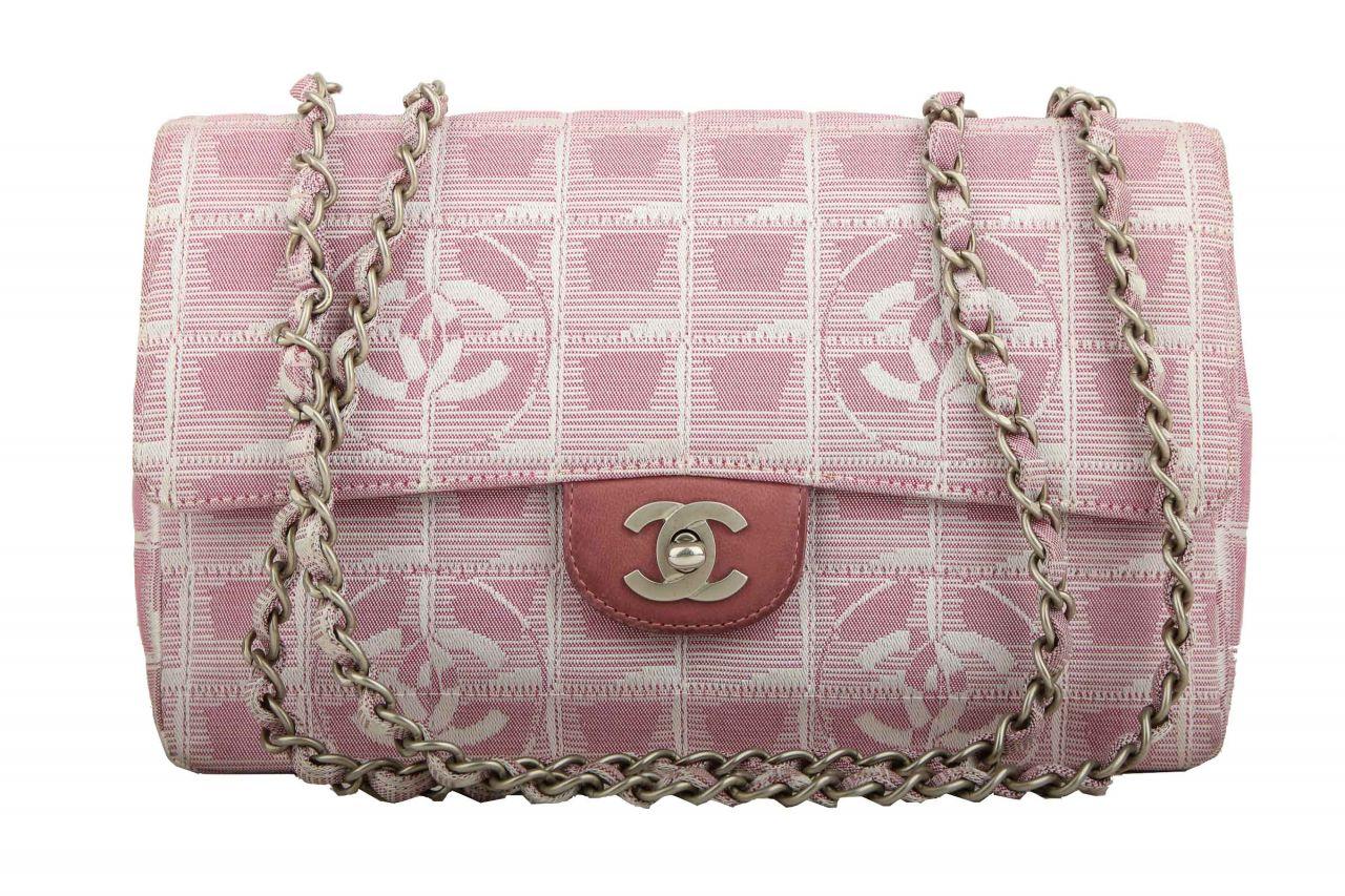 Chanel New Travel Line Chain Medium Rosa