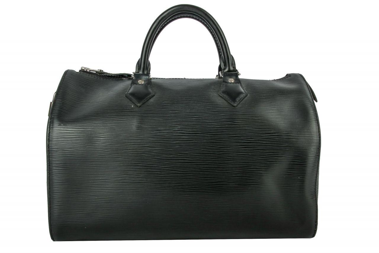 Louis Vuitton Speedy 35 Epi Leather Black