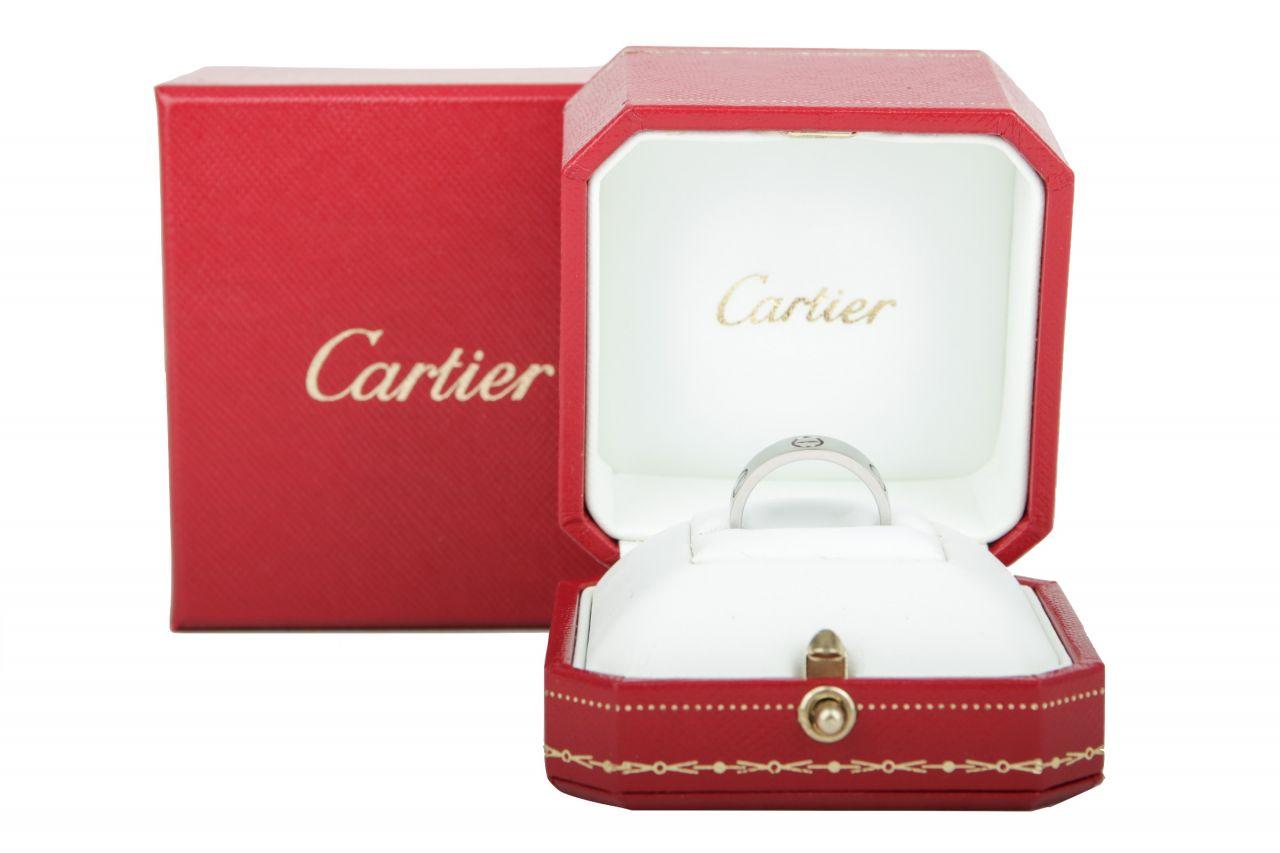 Cartier Love Ring Gr.53 Weißgold