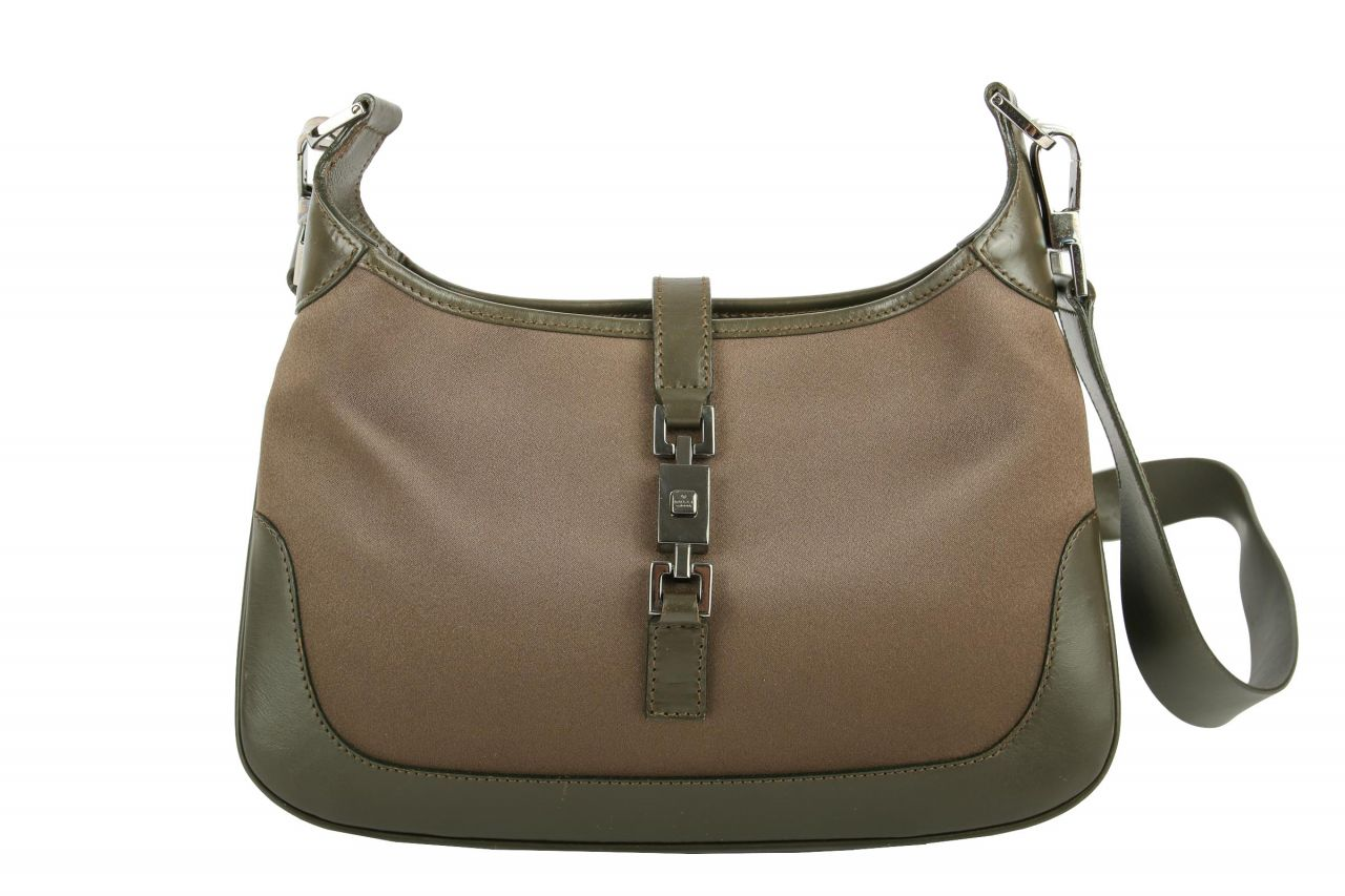 Gucci Jackie Crossbody Bag Braun