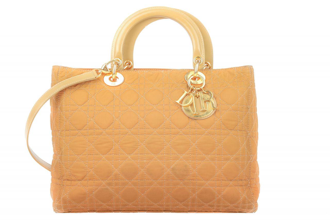 Dior Tasche Lady Dior Braun