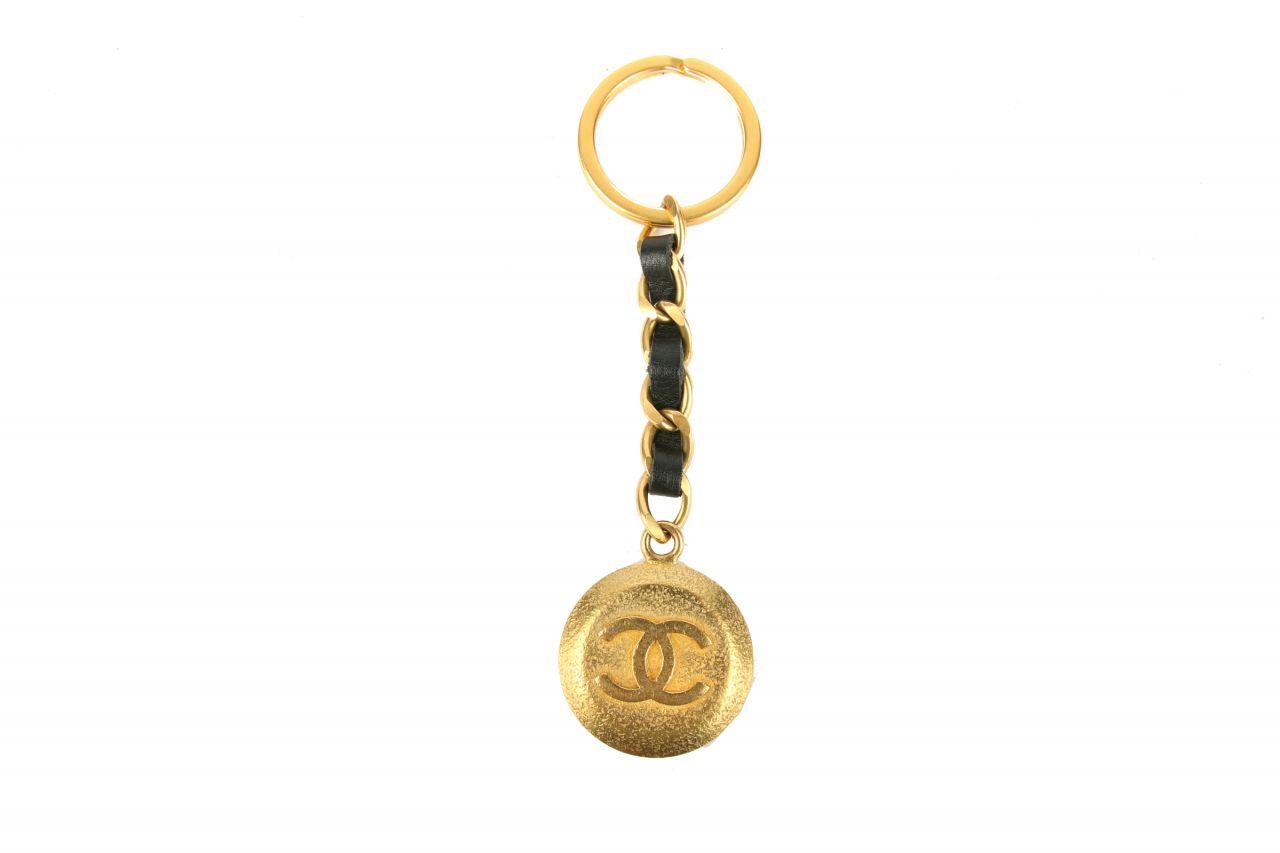 Chanel Schlüsselanhänger Gold