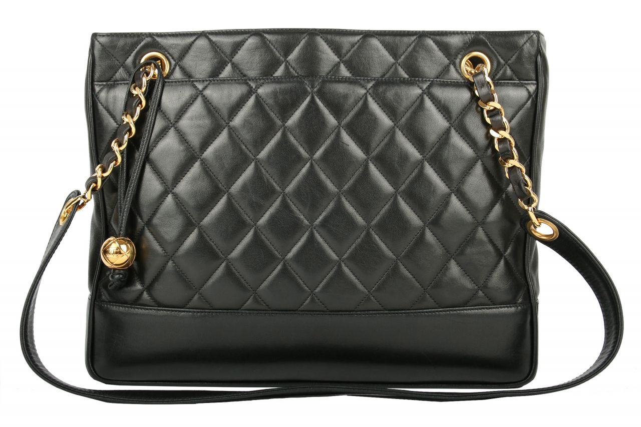 Chanel Shopping Tote Schwarz