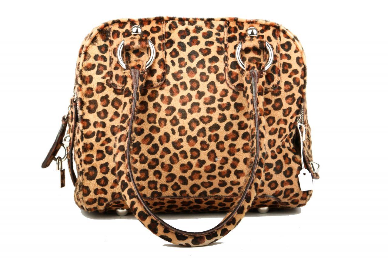 Dolce & Gabbana Handtasche mit Leopardenmuster