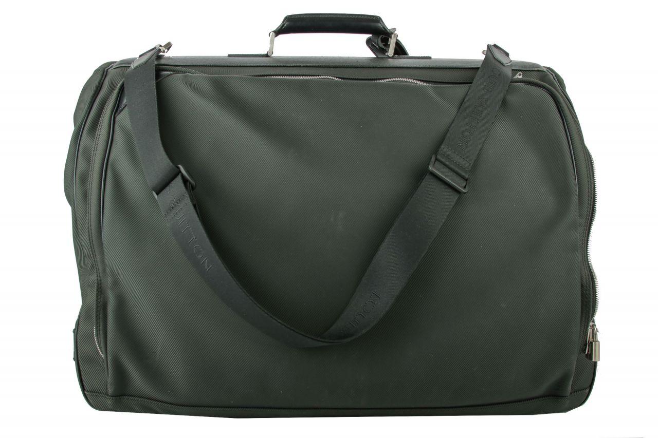 Louis Vuitton Kleidersack dunkelgrün