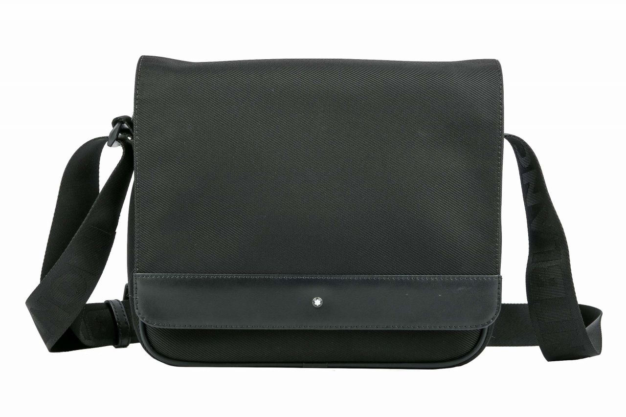 Mont Blanc Nightflight Bag Black Canvas